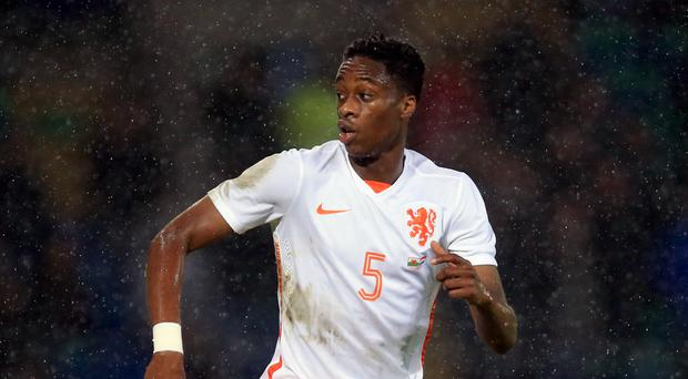 Terence Kongolo will spend the rest of the season at the John Smith's Stadium