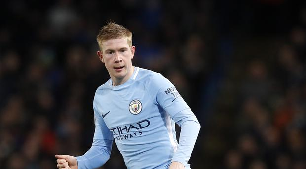 Kevin De Bruyne was outstanding again for Manchester City