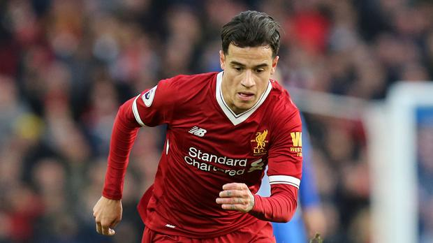 Philippe Coutinho had a transfer request rejected last summer as Liverpool rebuffed three bids for him from Barcelona