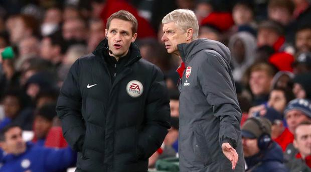 Arsene Wenger's side have conceded two controversial penalties in as many games