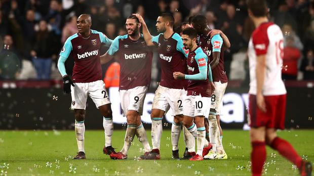 West Ham are in fine form