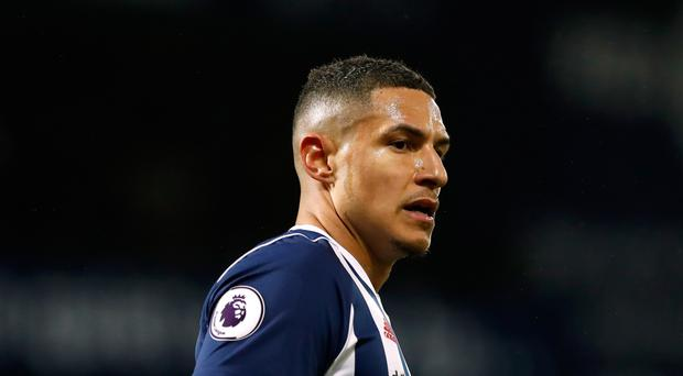 West Bromwich midfielder Jake Livermore was involved in an altercation with a West Ham supporter