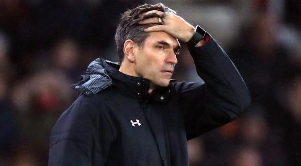 Mauricio Pellegrino's Southampton have failed to win any of their last nine games