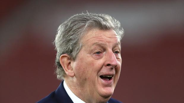 Crystal Palace manager Roy Hodgson on will take part in the first VAR trial on Monday