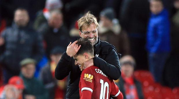 Klopp refuses to discuss Coutinho Barcelona link