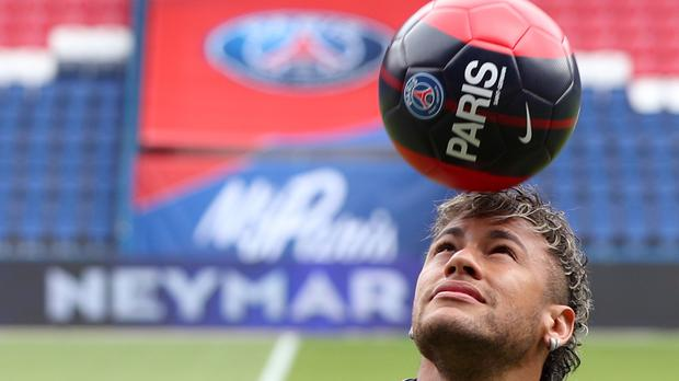Neymar's move to Paris St Germain last summer made him the most expensive footballer in history