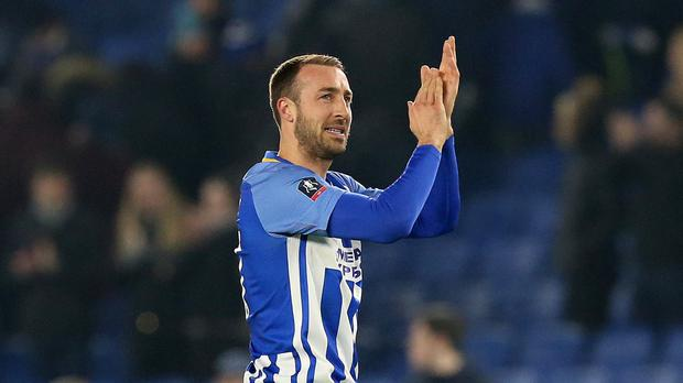 Brighton's Glenn Murray was the late match winner