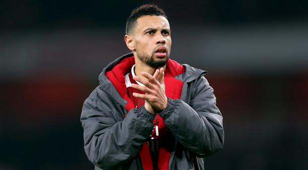 Francis Coquelin has had limited opportunities at Arsenal this season