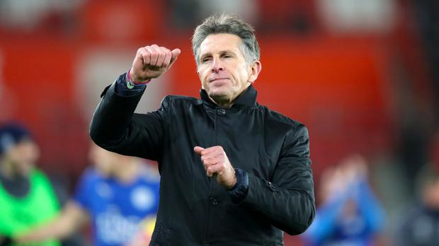 Leicester manager Claude Puel is assessing his striking options