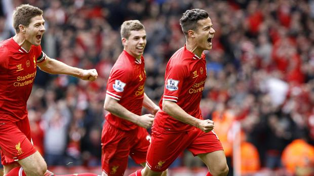 Philippe Coutinho scored the winner in 2014 - but Manchester City went on to win the league