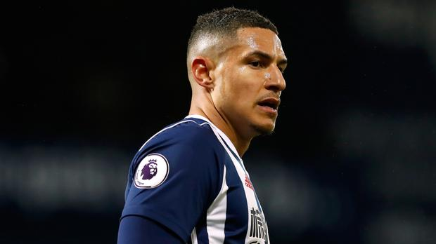 Jake Livermore confronted a West Ham fan at the London Stadium
