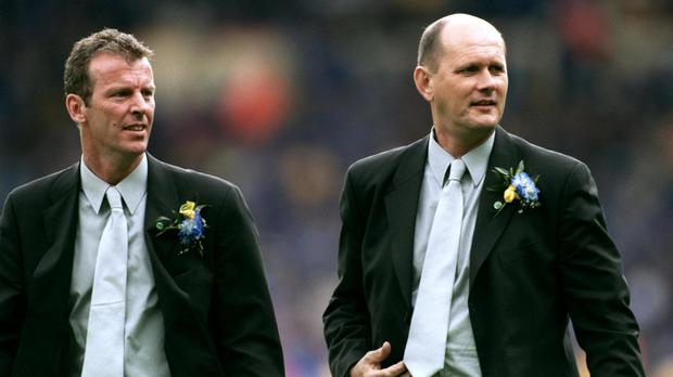 The Guardian claims three former youth-team players have launched legal claims against Chelsea as a result of their treatment by Graham Rix, pictured left, and Gwyn Williams, right