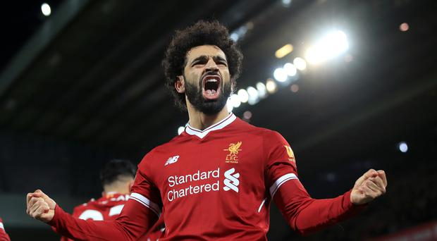 Mohamed Salah has scored 21 Premier League goals this season