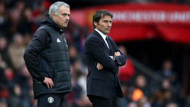 Chelsea head coach Antonio Conte told Jose Mourinho the feeling is mutual after the Manchester United manager said he regarded their feud with