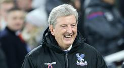 Roy Hodgson watched on as Crystal Palace beat Burnley