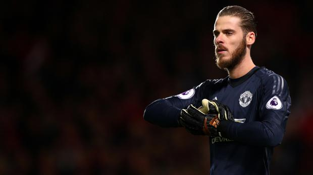 David De Gea's current Manchester United deal runs out next year, though the club hold a one-year option