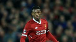 MIdfielder Georginio Wijnaldum admits Liverpool have to learn to close out matches if they want to become a team which can challenge for the title.