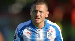 Jack Payne has been recalled by Huddersfield