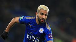 Riyad Mahrez asked to leave Leicester in the summer but the clubs rejected offers from Roma.