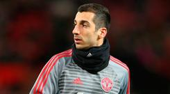 Mkhitaryan has fallen out of favour under Mourinho. Photo: Getty