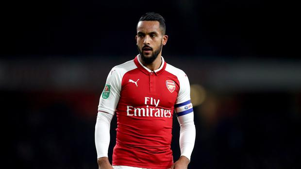 Theo Walcott is closing in on a move to Everton (Adam Davy/PA Wire)