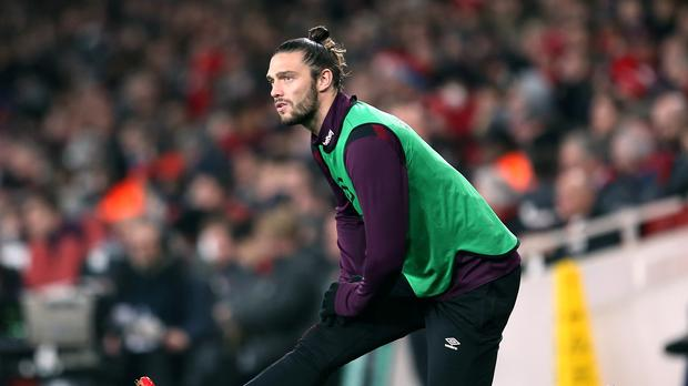 Could Andy Carroll ditch the claret and blue? (Steven Paston/EMPICS)
