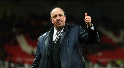 Newcastle United manager Rafael Benitez knew the takeover was off