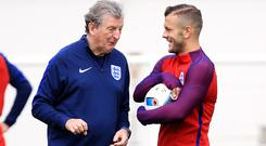 Roy Hodgson and Jack Wilshere