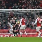 Arsenal v Crystal Palace – Premier League – Emirates Stadium (Ian Walton/Empics)