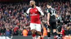 Arsenal v Crystal Palace – Premier League – Emirates Stadium