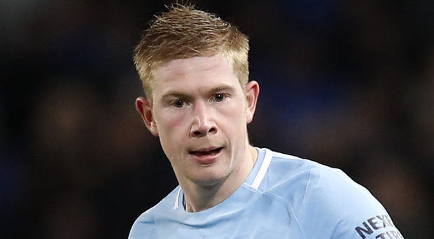 Manchester City's Kevin De Bruyne. Photo: PA