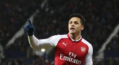 Alexis Sanchez has denied Thierry Henry told him to leave Arsenal