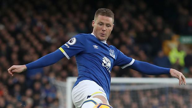 Everton's James McCarthy is back training