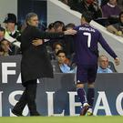 Jose Mourinho, left, managed Cristiano Ronaldo at Real Madrid (Stephen Pond/EMPICS)
