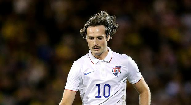 USA international Mix Diskerud is a surprise 'signing' for Manchester City