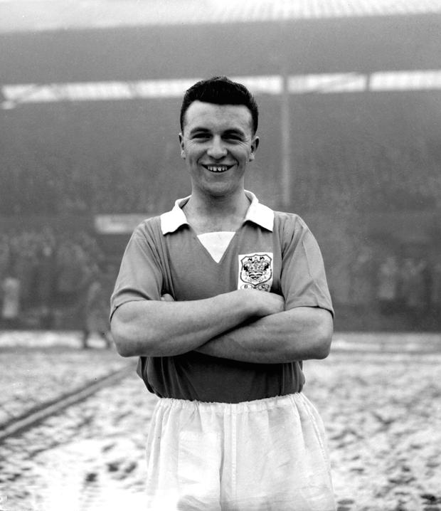 TANGERINE DREAM: Blackpool legend Jimmy Armfield played more than 600 times for the Lancashire club