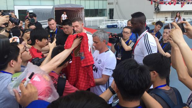 Manchester United Chine Tour – Shanghai Stadium