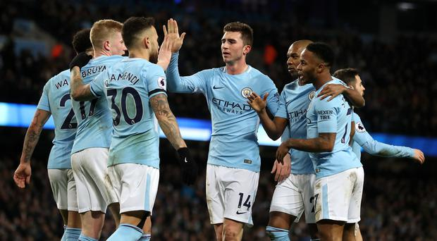 Manchester City enjoyed a 3-0 win over West Brom