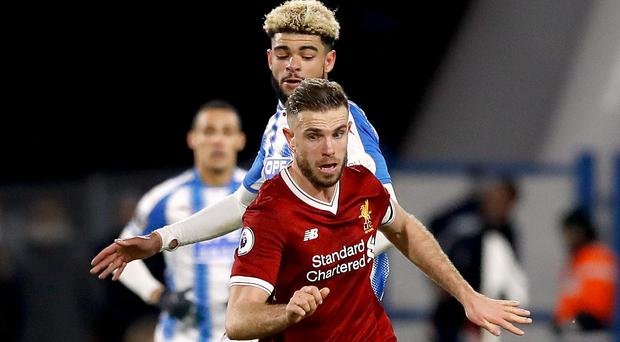 Huddersfield v Liverpool – Premier League – John Smith's Stadium