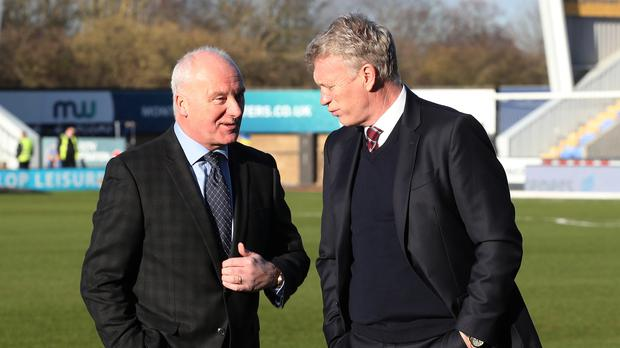Tony Henry (left) surprised West Ham manager David Moyes with his comments on African players