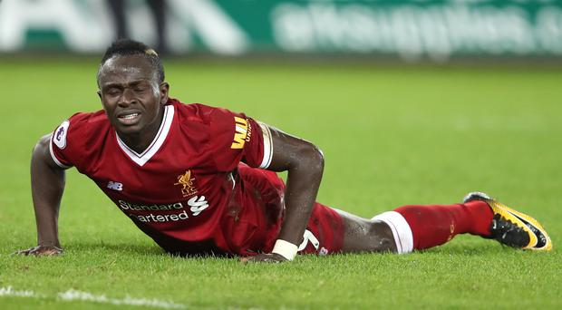 Liverpool manager Jurgen Klopp is not worried by Sadio Mane's dip in form.