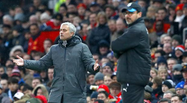 Jose Mourinho wanted more from the Old Trafford crowd