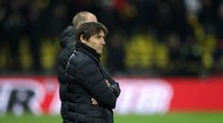 Chelsea manager Antonio Conte (left) has seen his side lose two straight Premier League matches (Adam Davy/PA Wire)