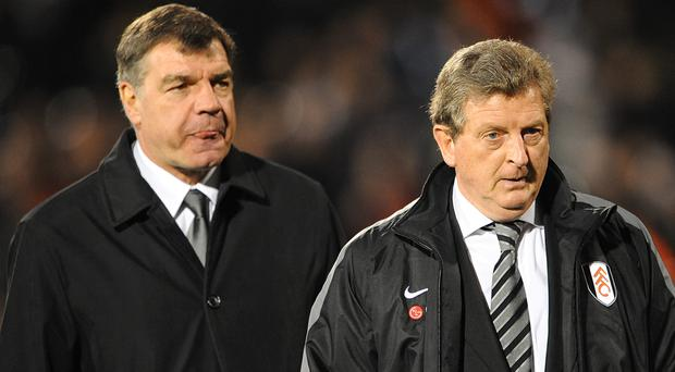 Roy Hodgson, right, has revealed he has not had an apology from Sam Allardyce who mocked the way he speaks