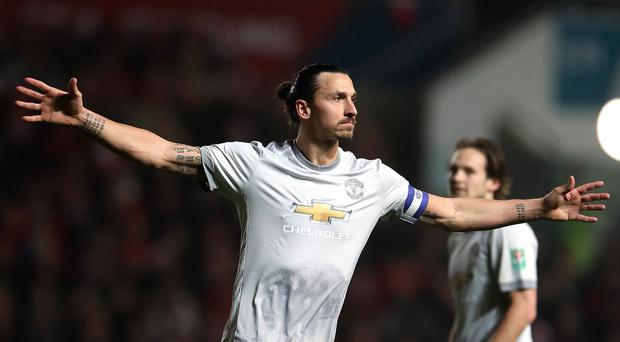 Zlatan Ibrahimovic has been linked with a move to the United States