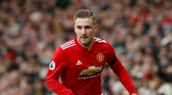 Luke Shaw is getting more chances at Manchester United right now