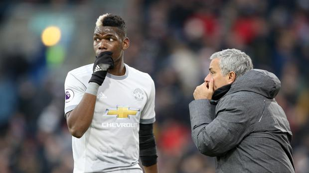 Manchester United's Paul Pogba has been praised by his manager