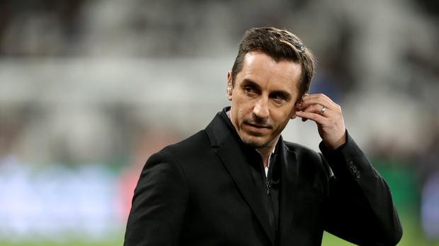 Gary Neville ripped into Arsenal after their Carabao Cup final humbling