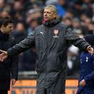 Arsene Wenger was disappointed Arsenal did not convert their first-half chances