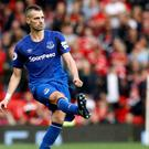 Everton's Morgan Schneiderlin was booed by his own fans during the 3-1 win over Crystal Palace.